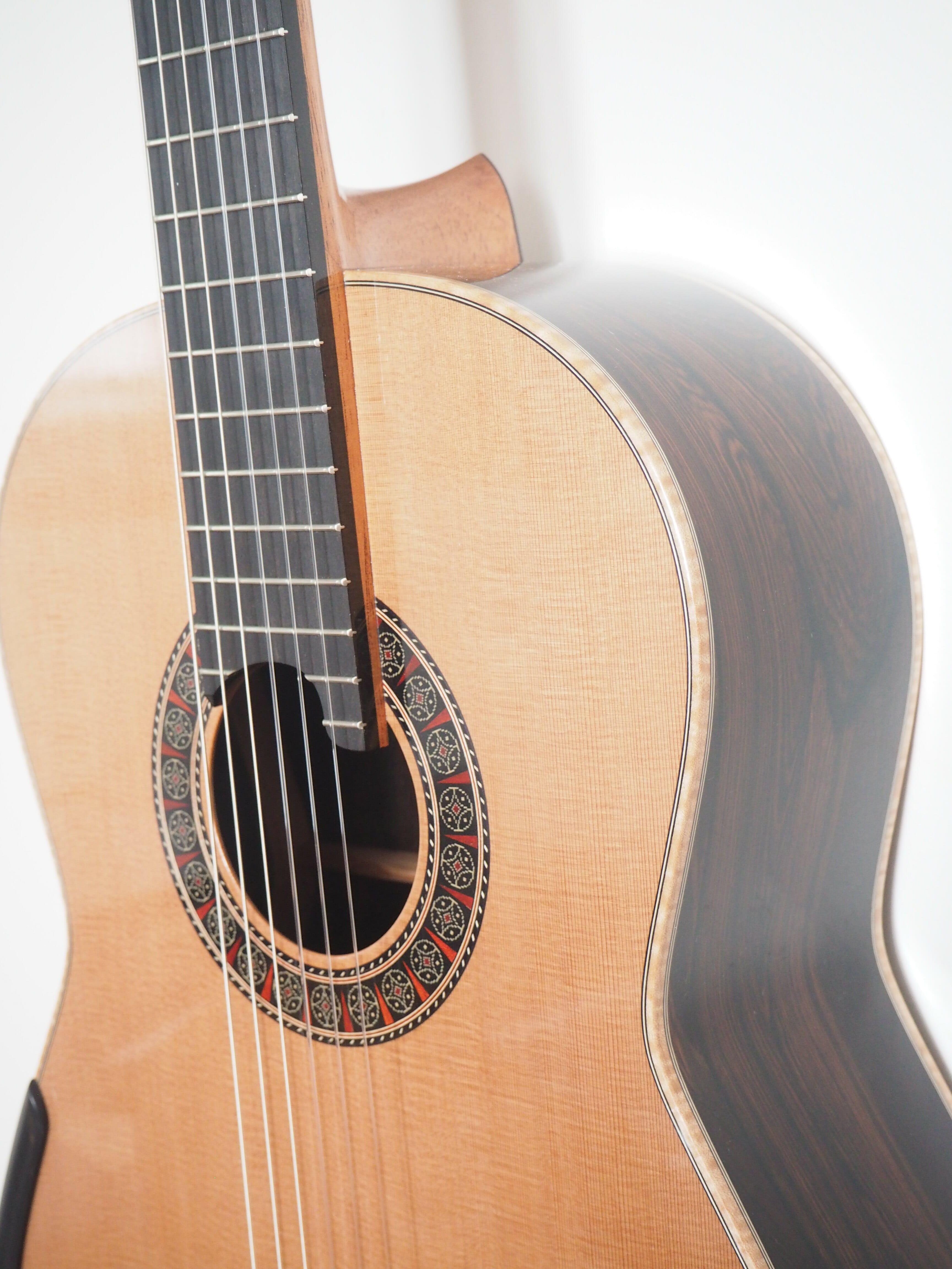 guitare classique luthier Martin Blackwell double-table