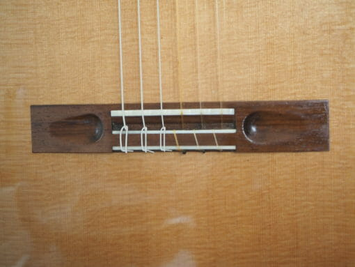 Partyka Guitare classique lattice luthier