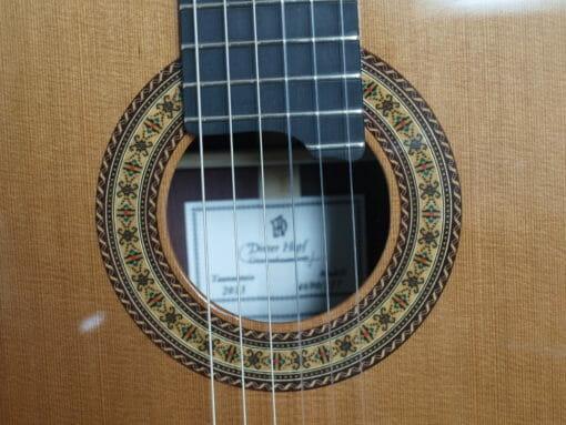 Dieter Hopf portentosa grande furioso guitare classique luthier
