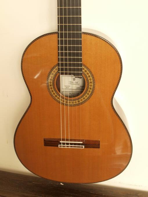 Dieter Hopf grande furioso portentosa guitare classique luthier