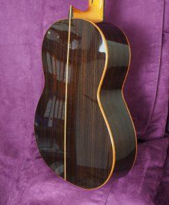 Dieter Hopf luthier progresso guitare classique double-table