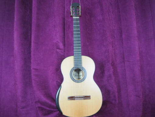Guitare classique luthier Robin Moyes barrage radial Simon marty