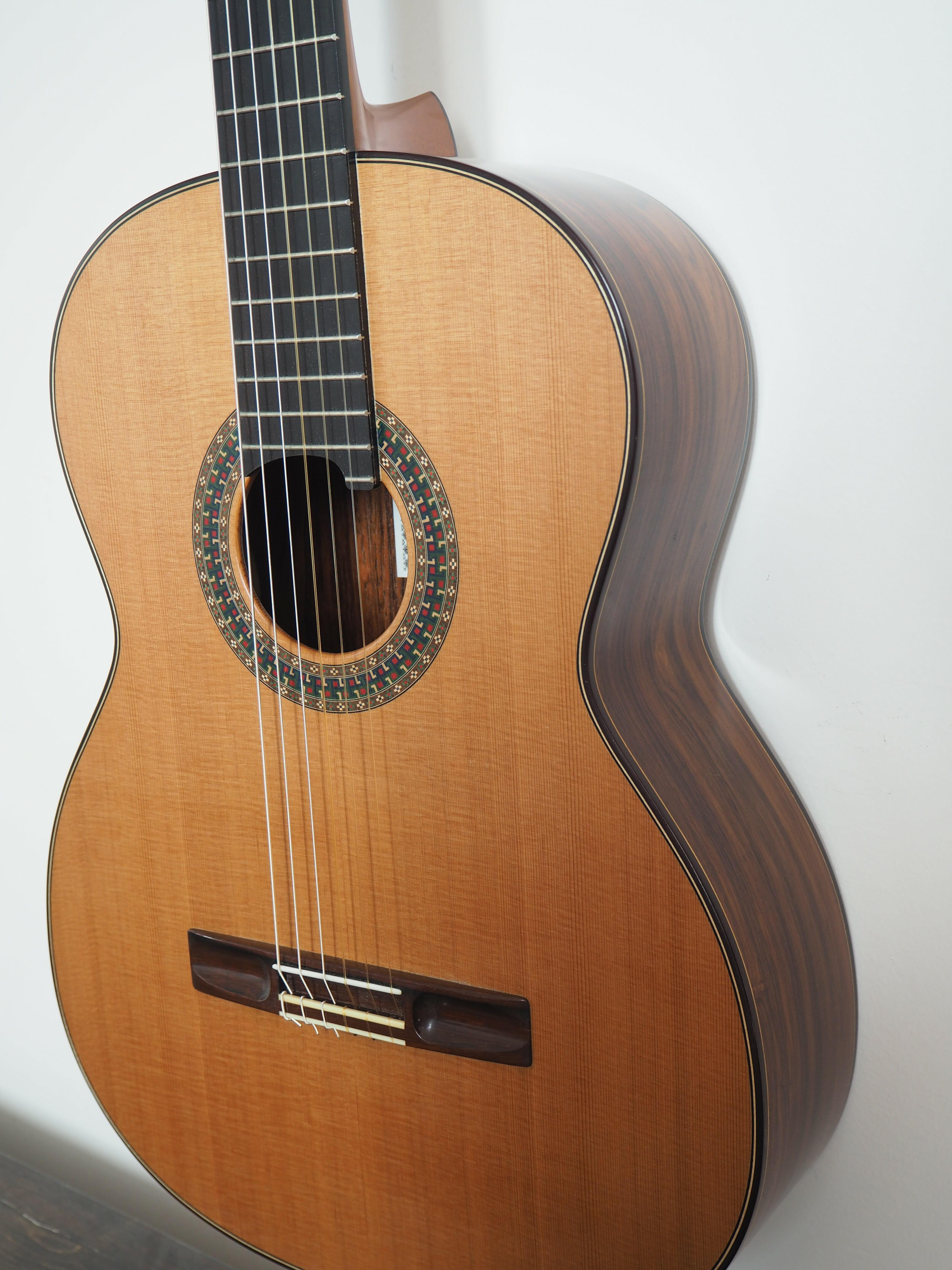 Simon Marty guitare classique de luthie