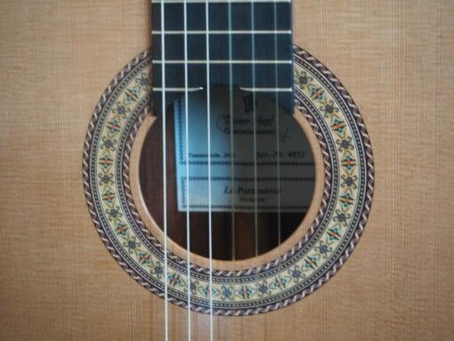 Dieter Hopf luthier Evolucion Portentosa guitare classique