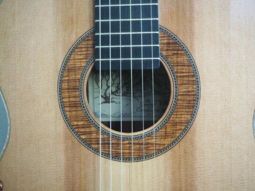 Guitare classique du luthier graham caldersmith disponible sur www.guitare-classique-concert.fr