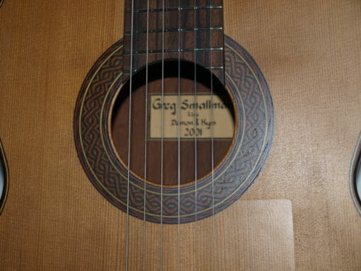 Greg Smallman guitare classique luthier lattice 2001