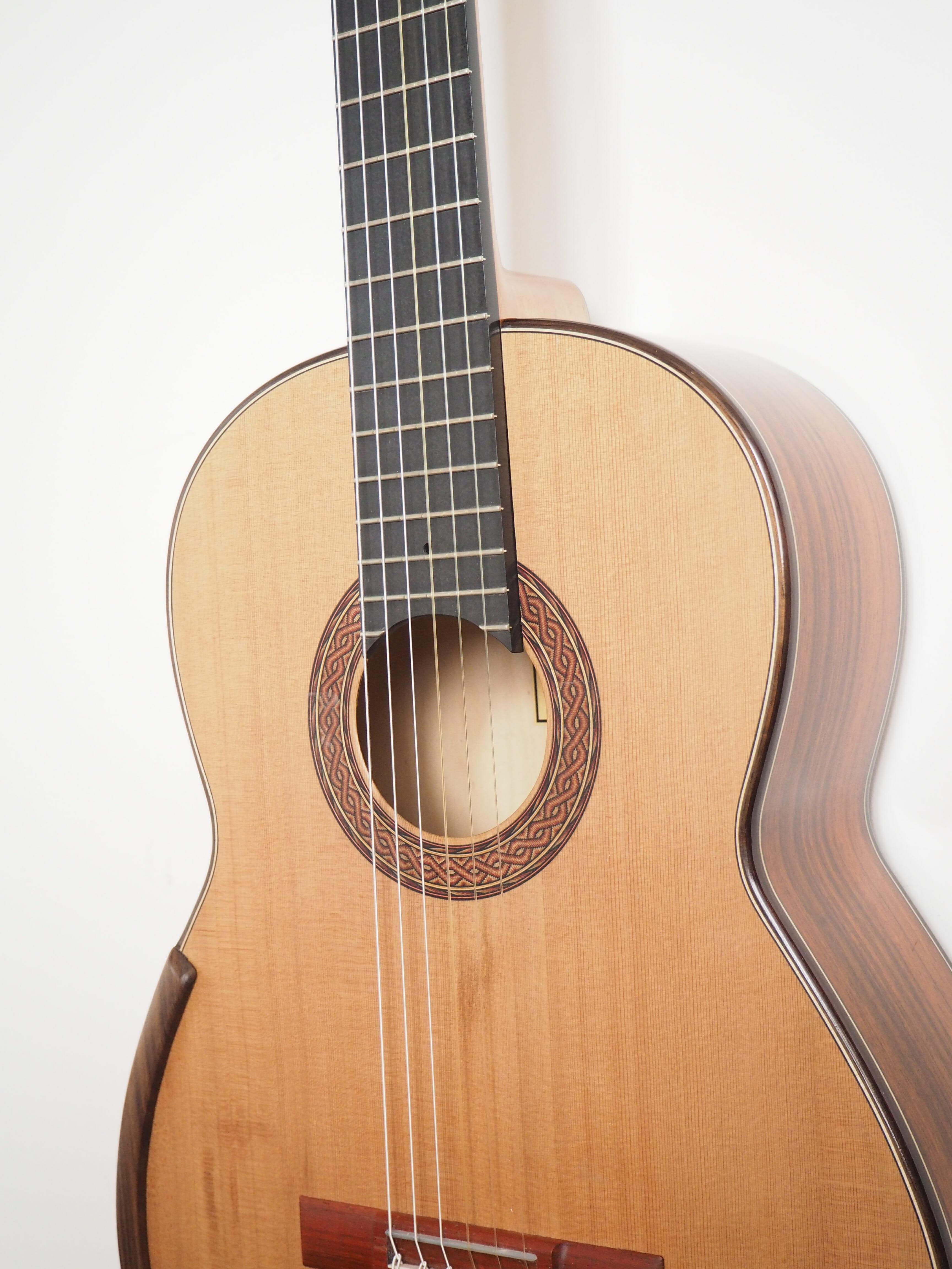 Greg Smallman guitare classique luthier lattice 201