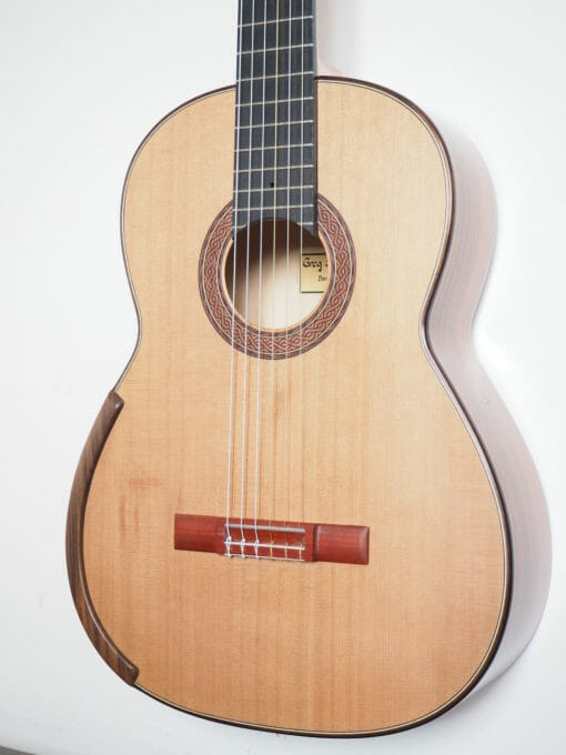 Greg Smallman guitare classique luthier lattice 2011