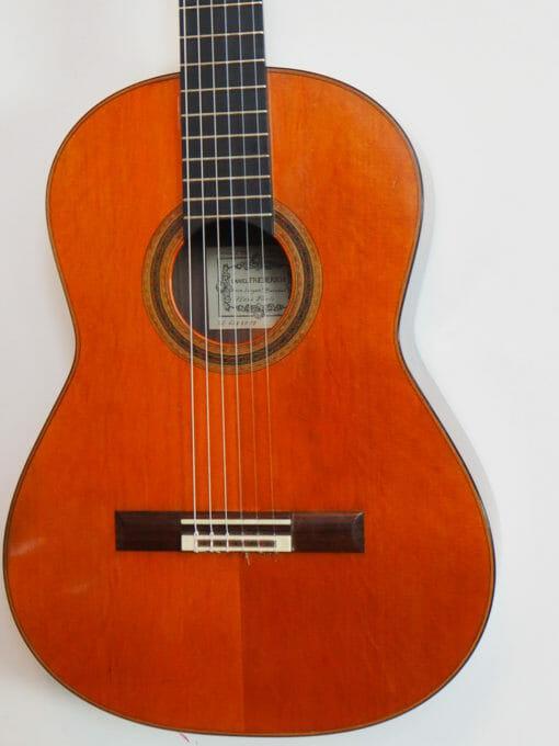 Daniel Friederich guitare classique luthier