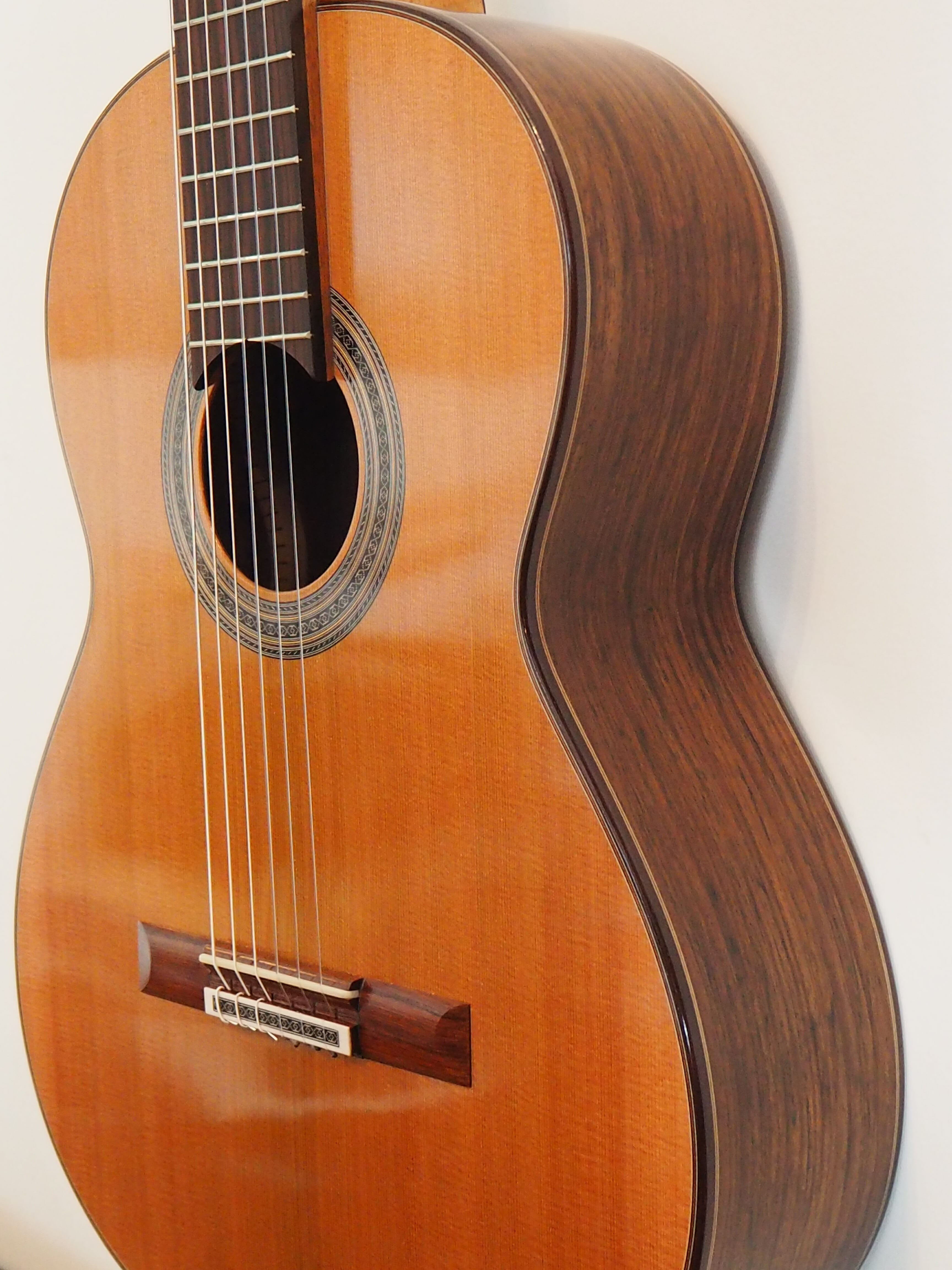 Dieter Muller guitare classique double-table luthier
