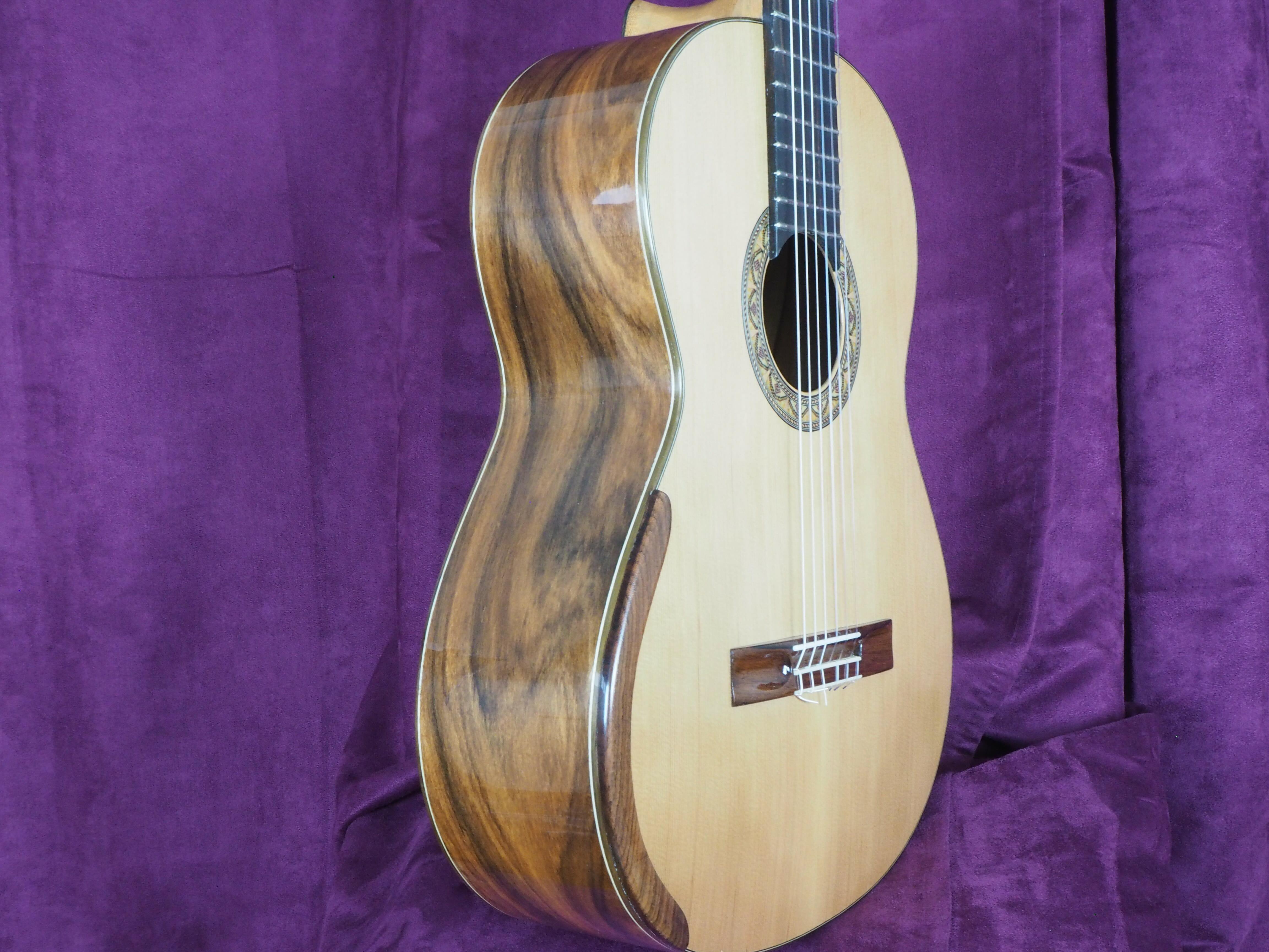 Dan Kellaway guitare classique luthier lattice
