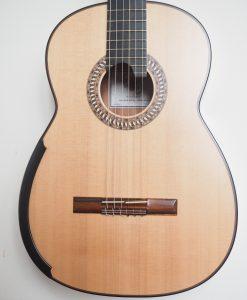 Allan Bull guitare classique luthier lattice