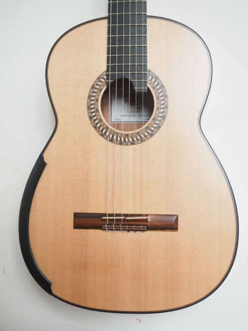 Allan Bull guitare classique luthier lattice