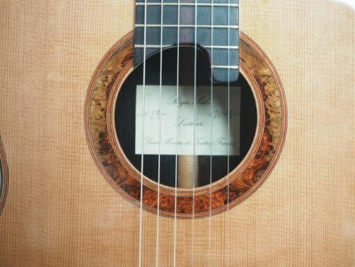 Régis Sala guitare classique modèle lattice Australe