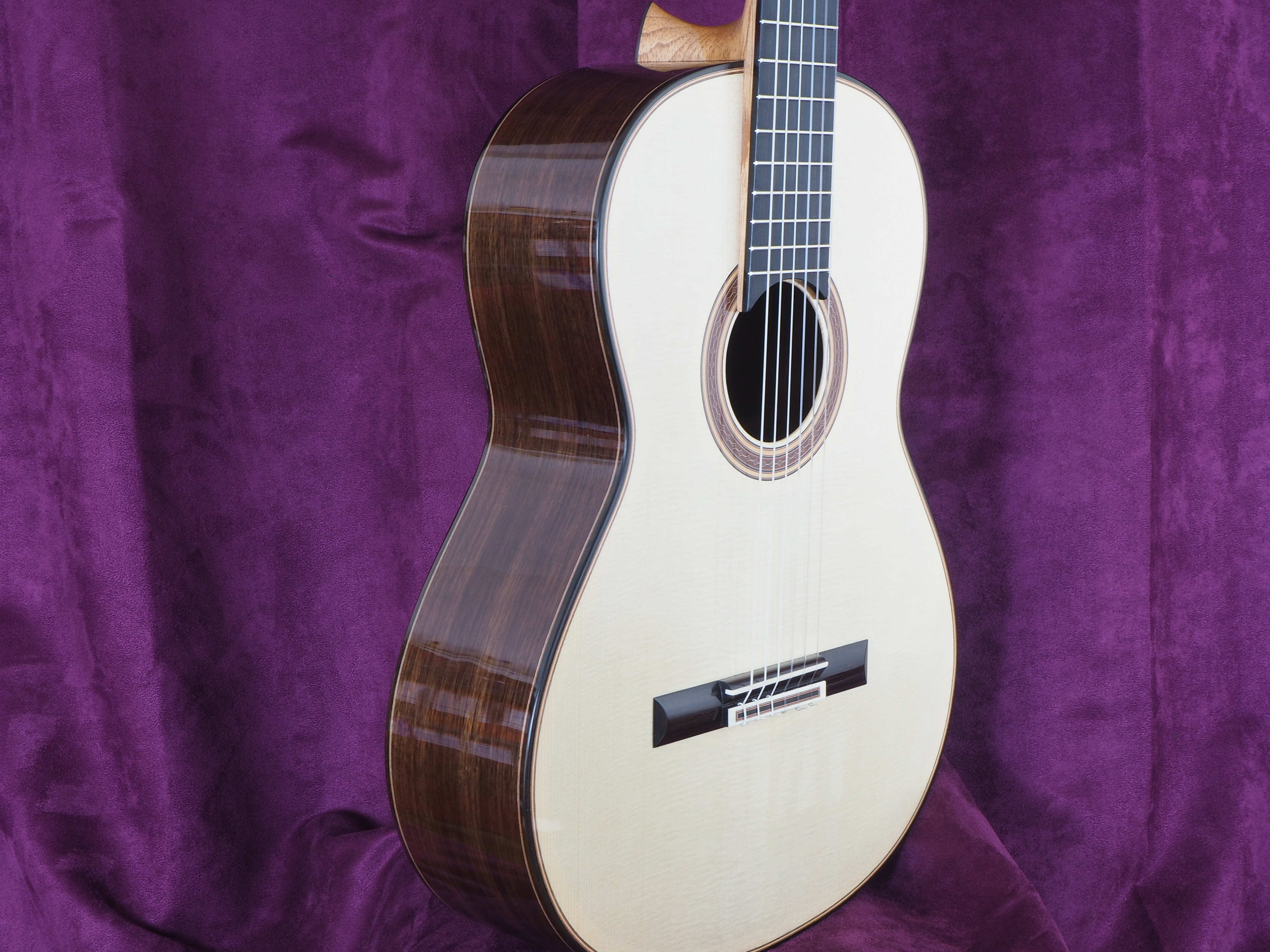 Andreas Krischner guitare classique double-table luthier