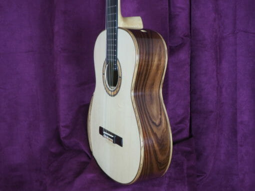 Paul Sheridan guitare classique luthier lattice