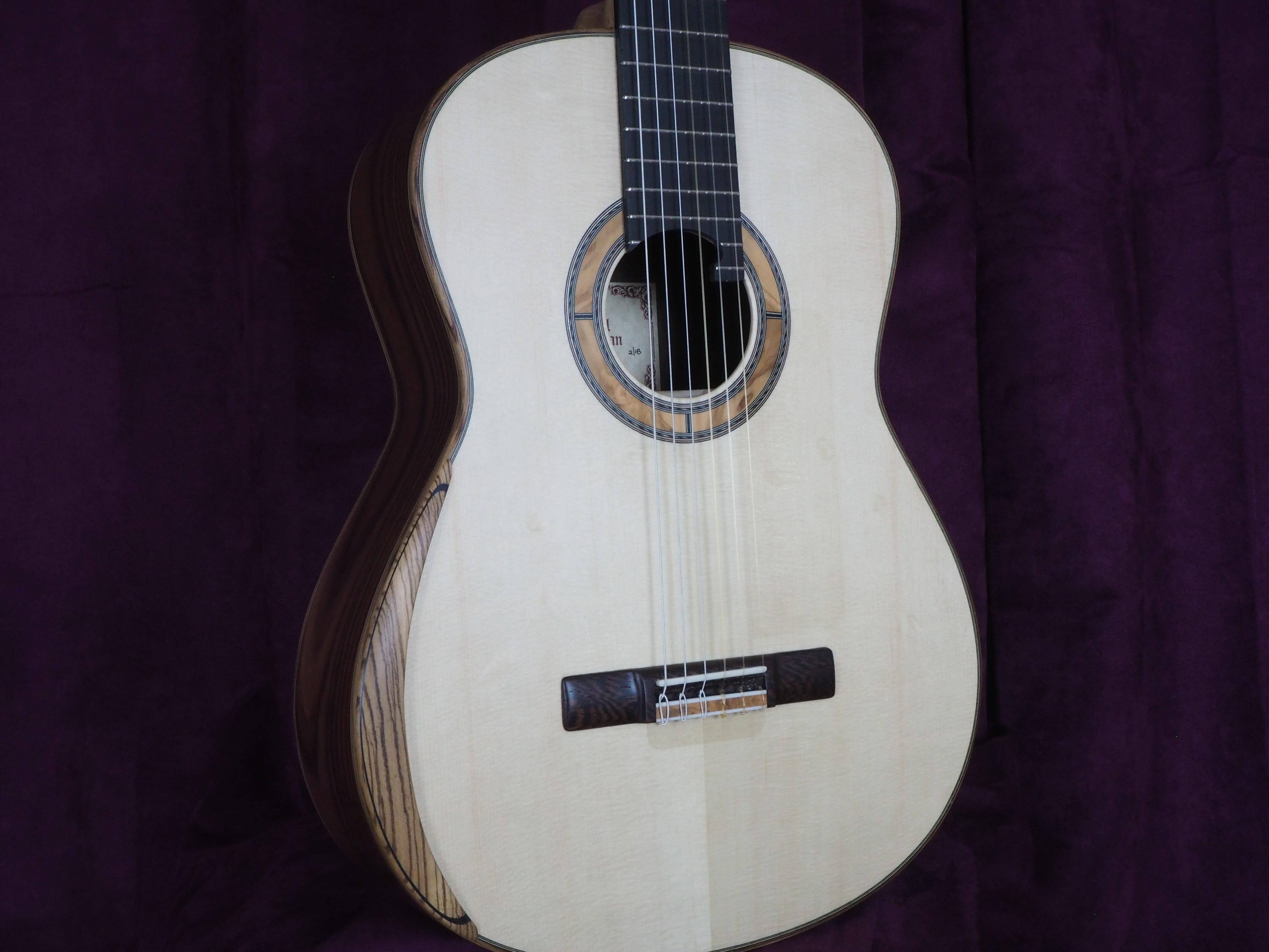 Paul sheridan guitare classique de concert lattice