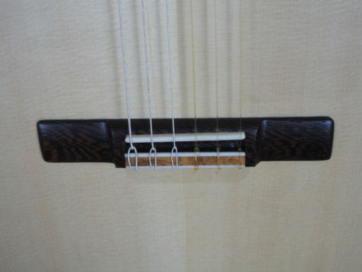 Paul sheridan guitare classique de luthier lattice