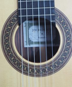 Jim Redgate guitare classique luthier lattice