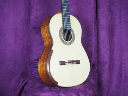 Jim Redgate guitare classique luthier lattice face 2