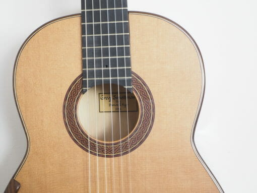 Greg Smallman 2014 guitare classique luthier lattice
