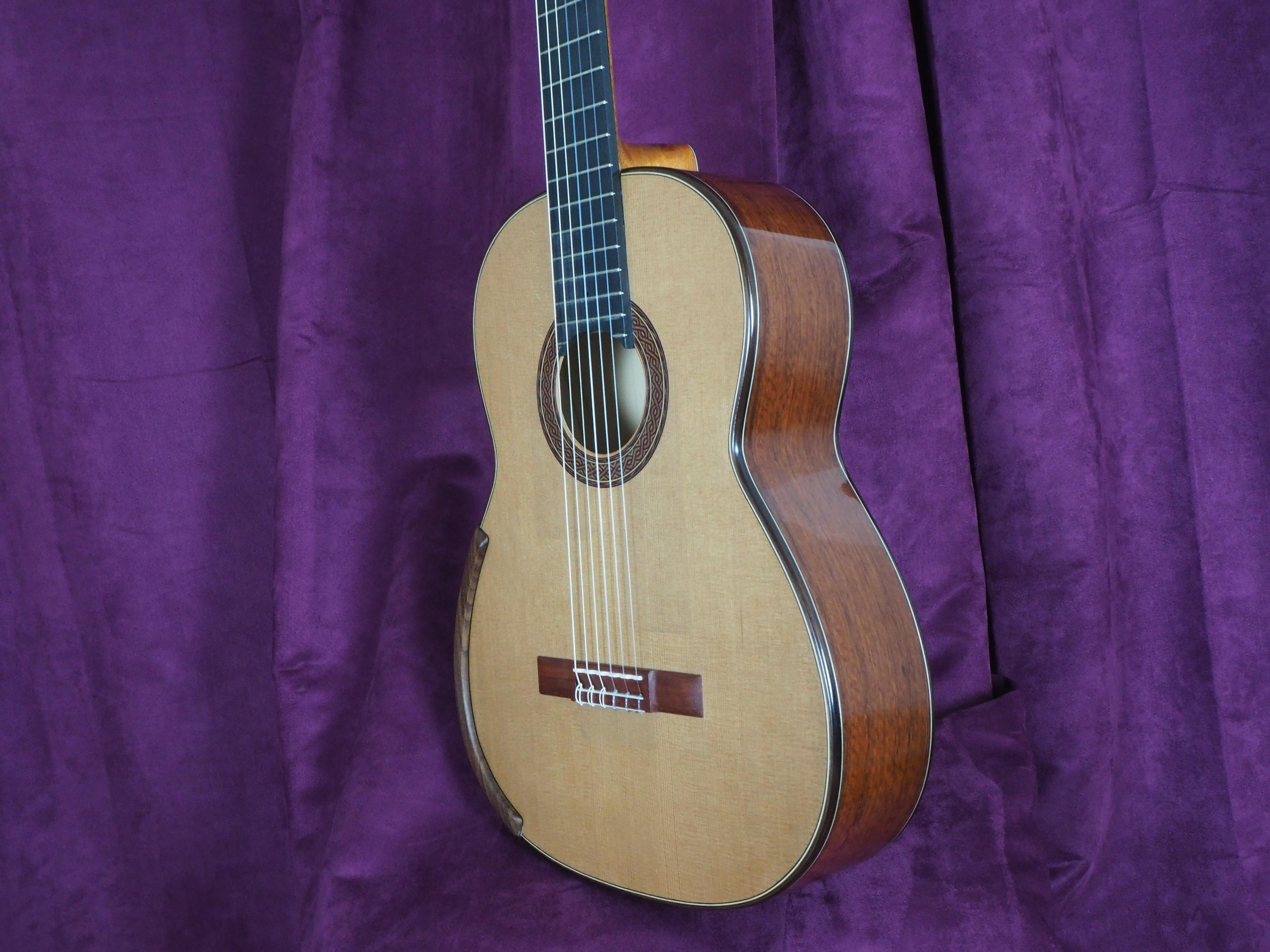 Greg Smallman 2014 guitare classique luthier lattice