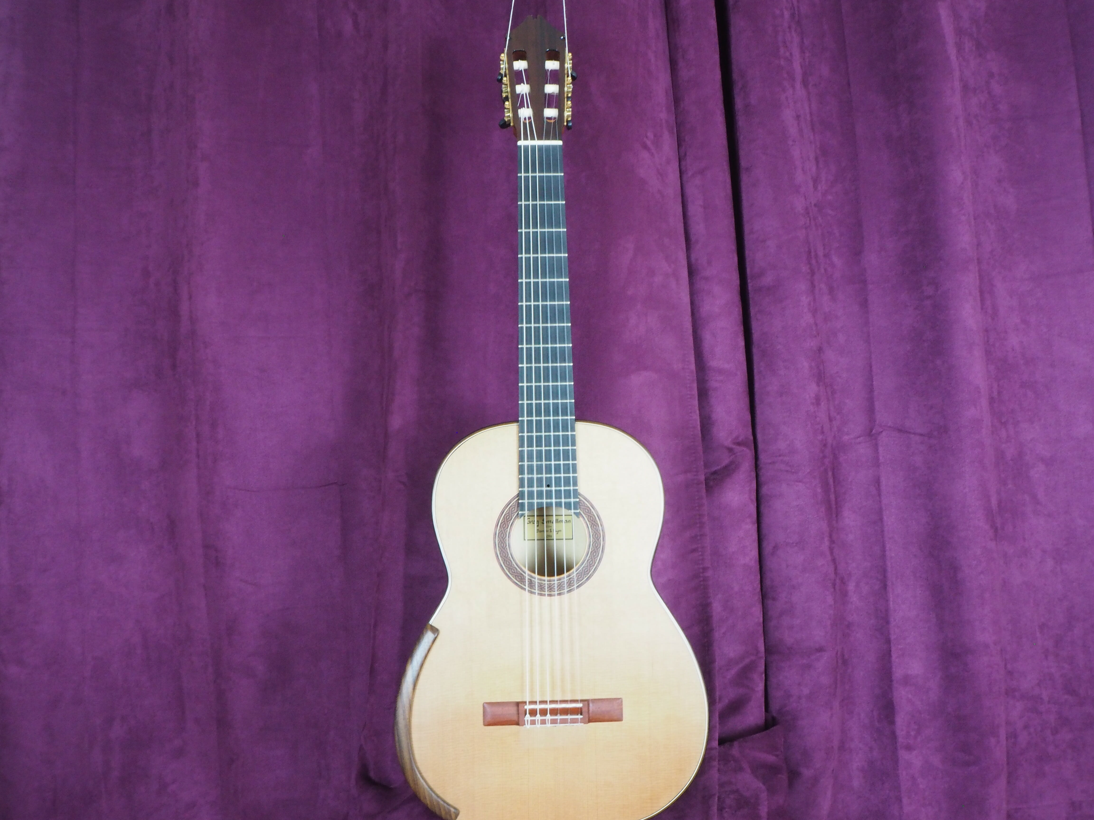 Greg Smallman 2014 guitare lattice luthier classique
