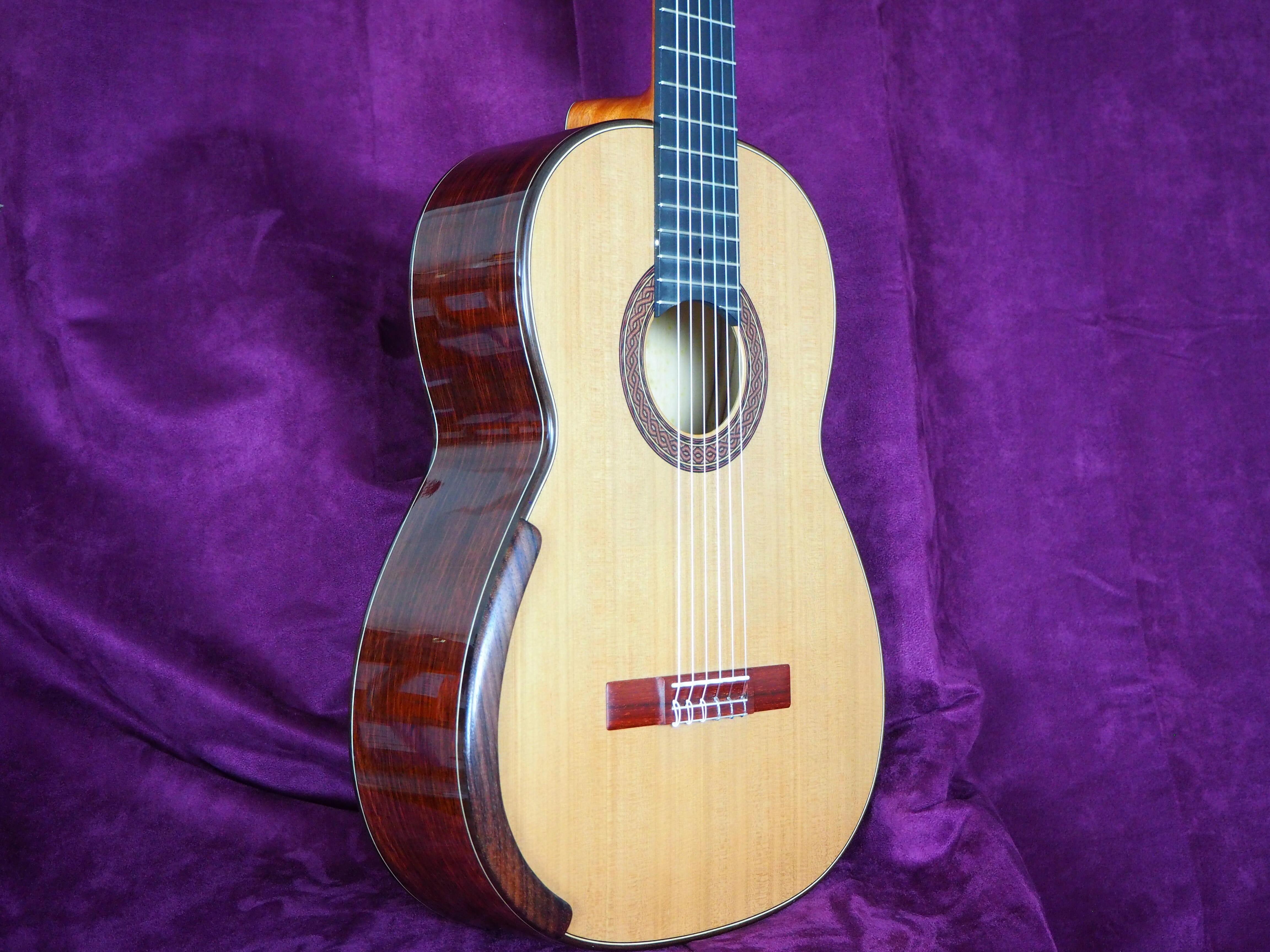 Greg Smallman 2015 guitare classique de concert lattice luthier