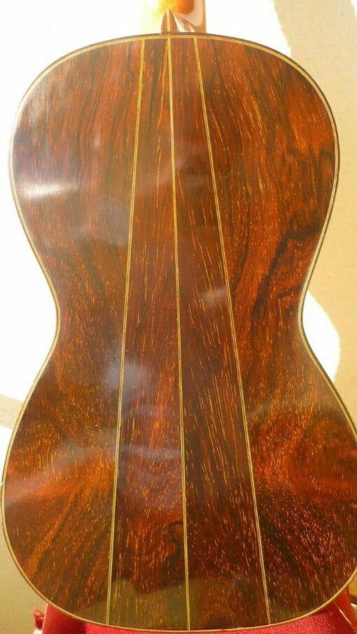 Guitare romantique Panormo louis 1850 dos 2