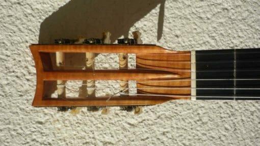 Guitare romantique Panormo louis 1850 tête