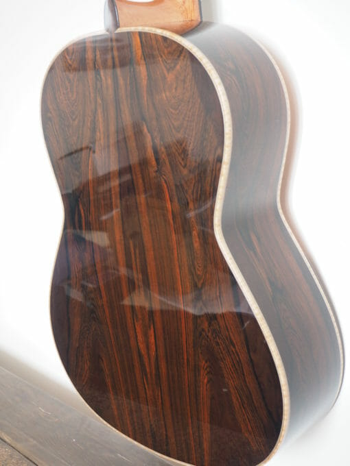 Martin Blackwell guitare classique luthier double-table