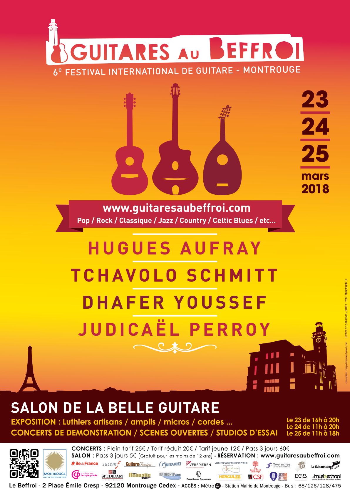 festival de guitare de bruxelles 2017