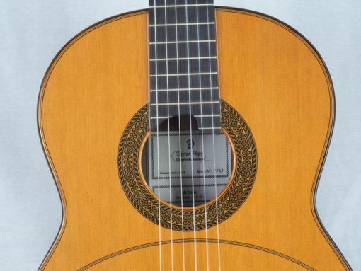 Dieter Hopf guitare luthier Artista Membrane No 19HOP163-07