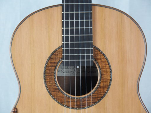 Graham Caldersmith luthier guitare classique No 19CAL116-01