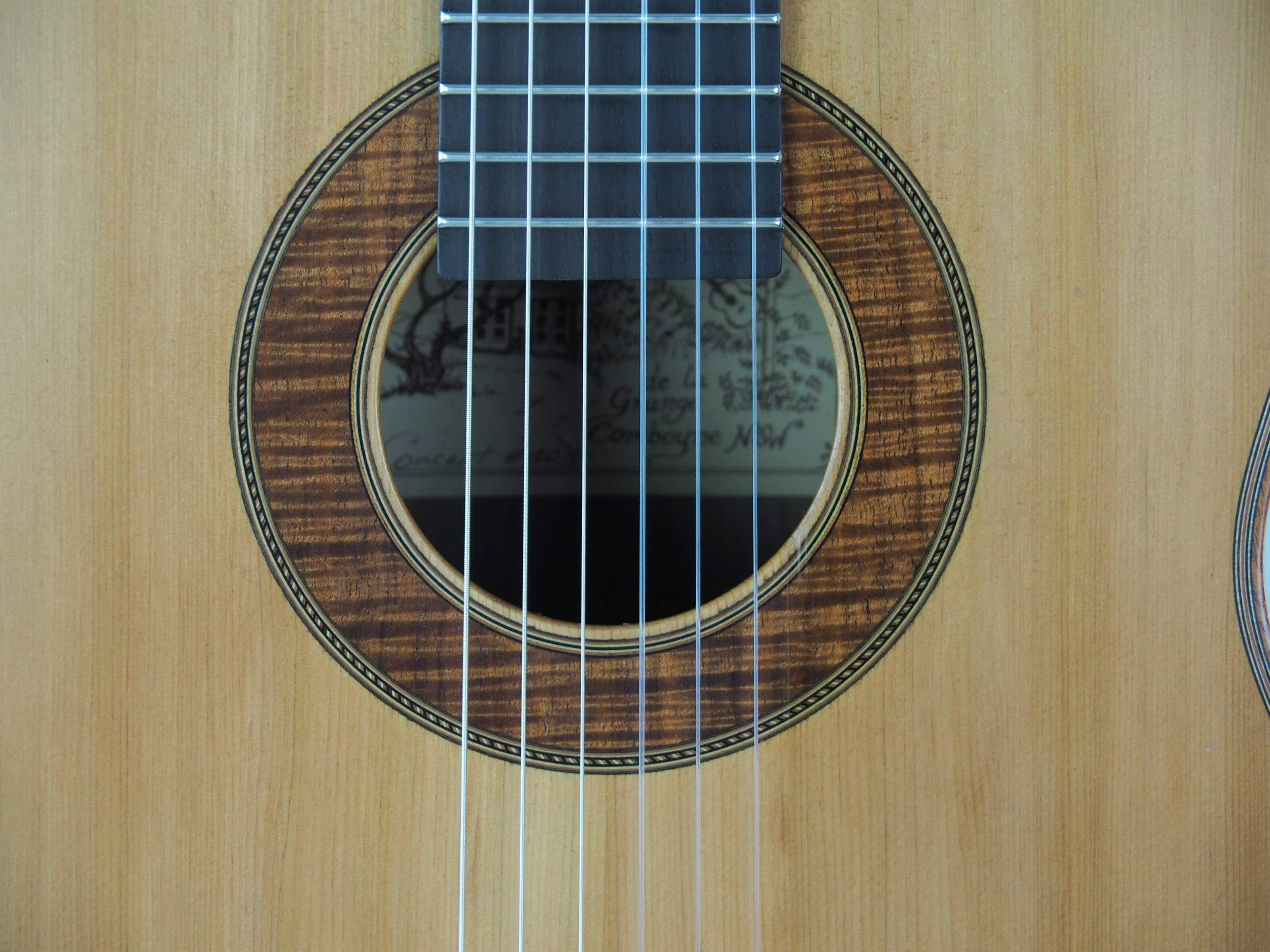Graham Caldersmith luthier guitare classique 19CAL105-07