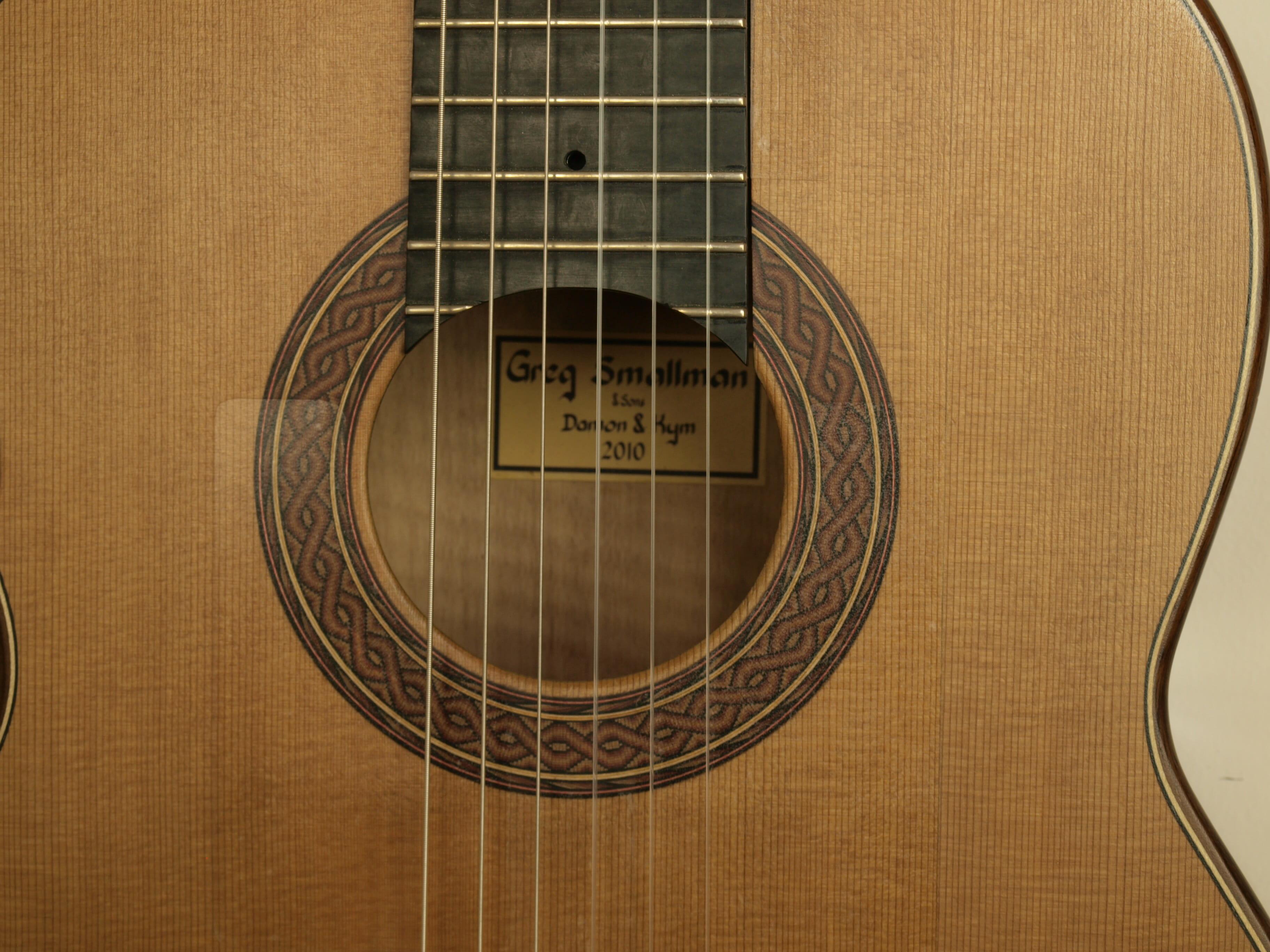 Greg Smallman guitare classique de luthier