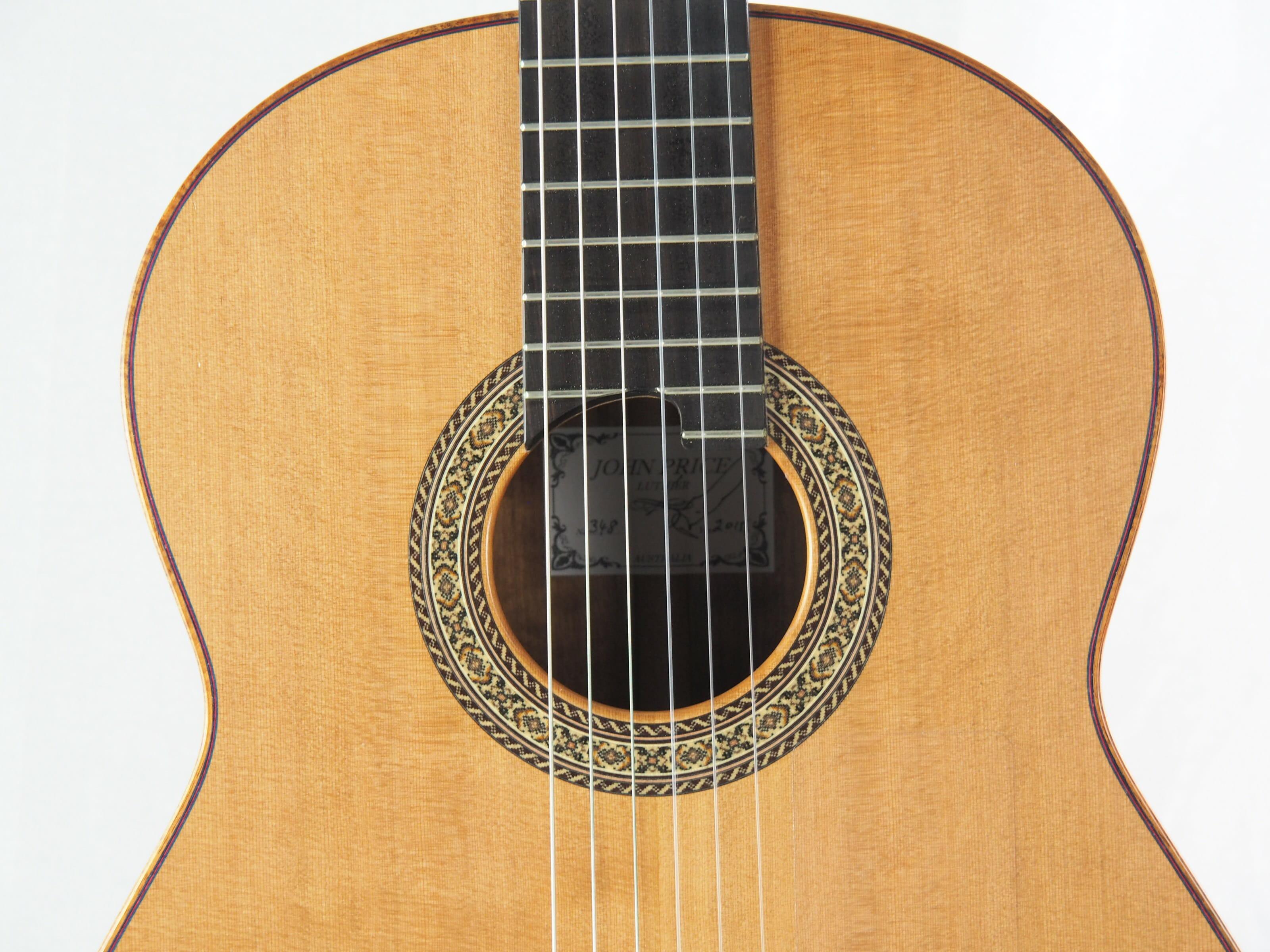 John Price luthier guitare classique No 19PRI348-10