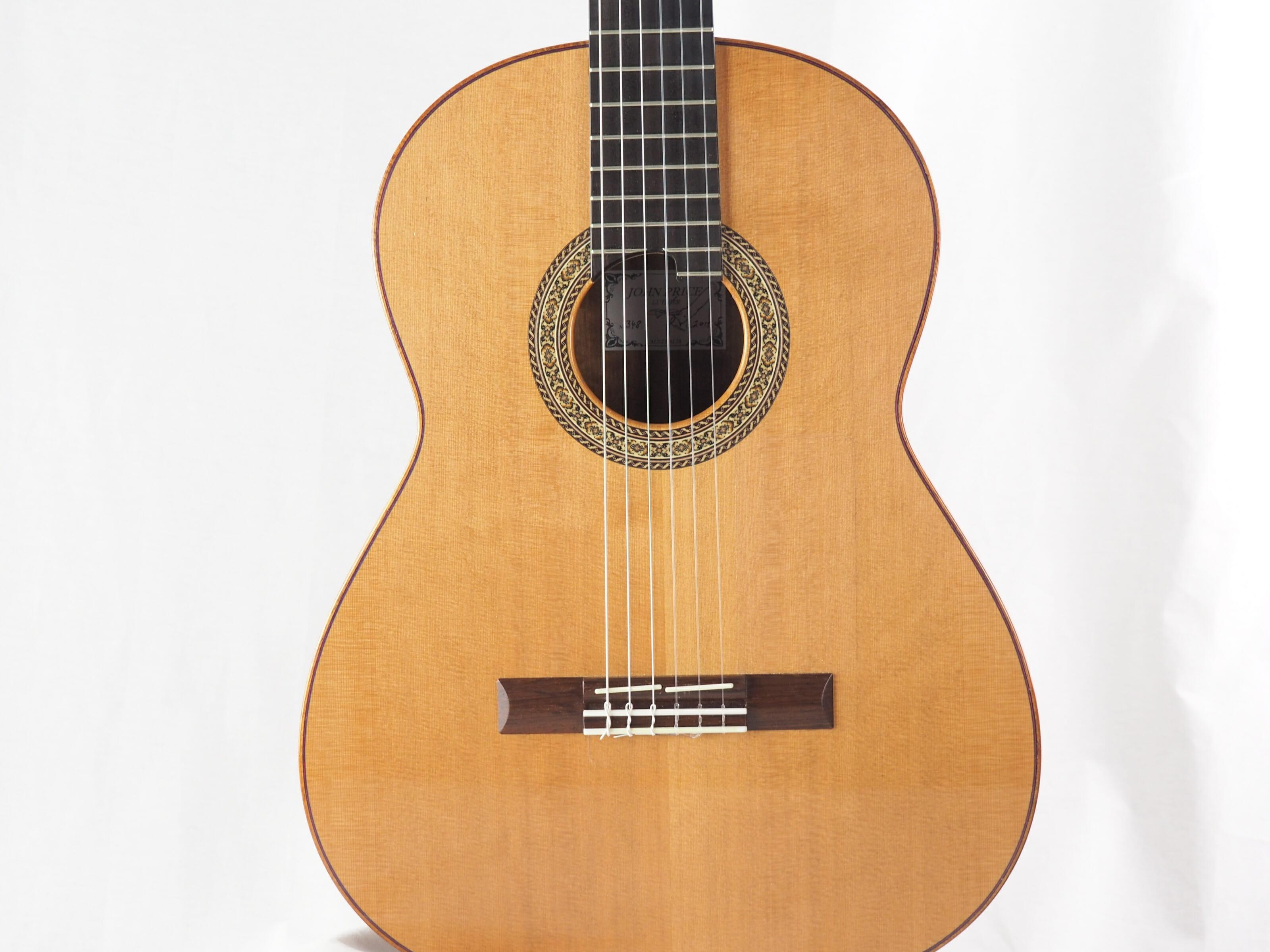 John Price luthier guitare classique No 19PRI348-02