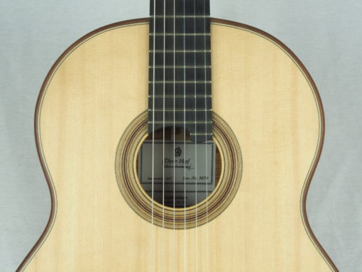 Dieter Hopf Luthier guitare classique Auditorium No 19HP070-08