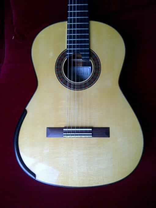 Guitare classique martin blackwell double table