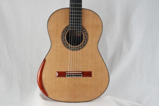Guitare classique luthier Charalampos Koumridis barrage lattice No 124 19KOU124-11