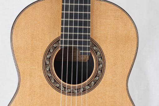 Guitare classique luthier Charalampos Koumridis barrage lattice No 124 19KOU124-10