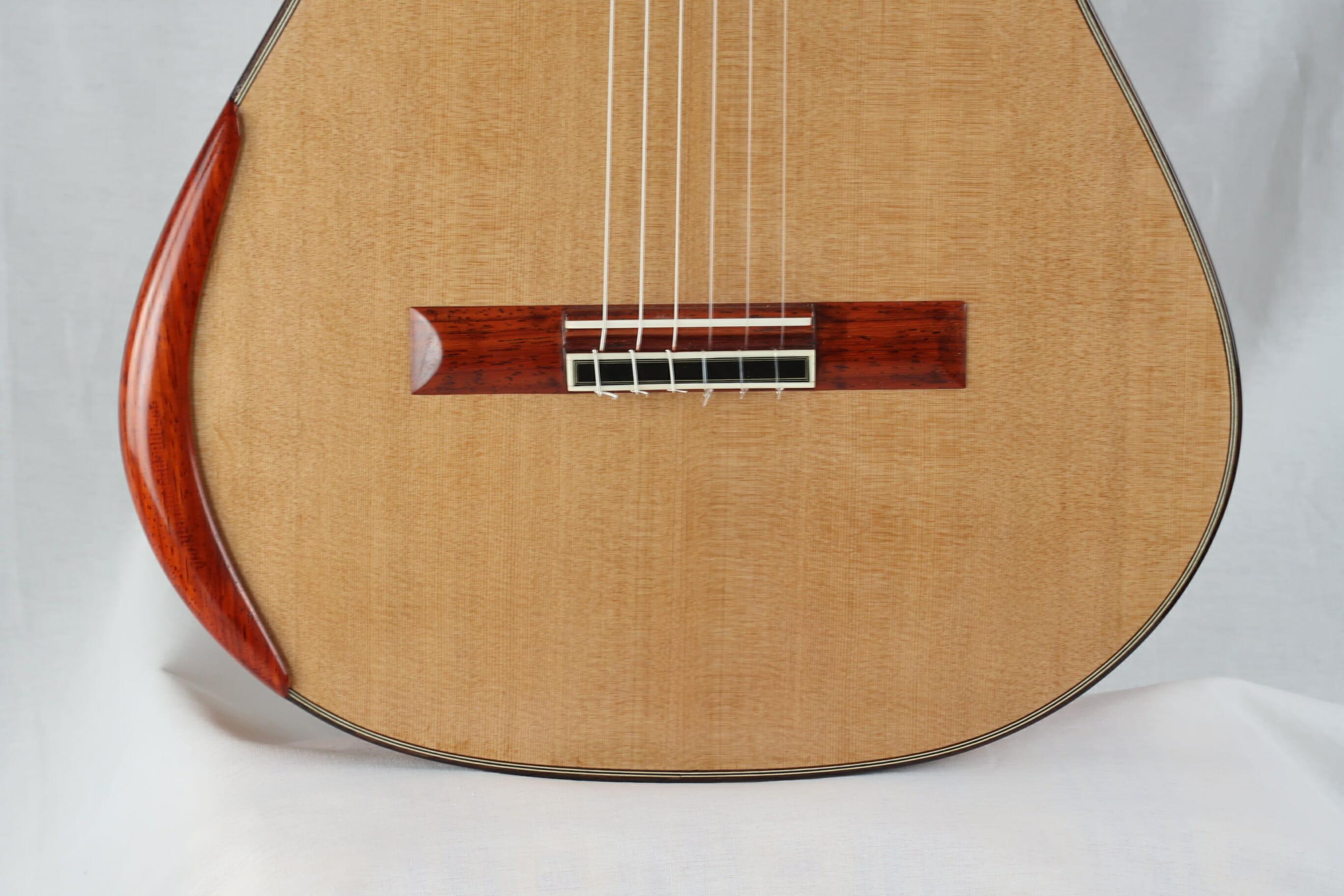 Guitare classique luthier Charalampos Koumridis barrage lattice No 124 19KOU124-08