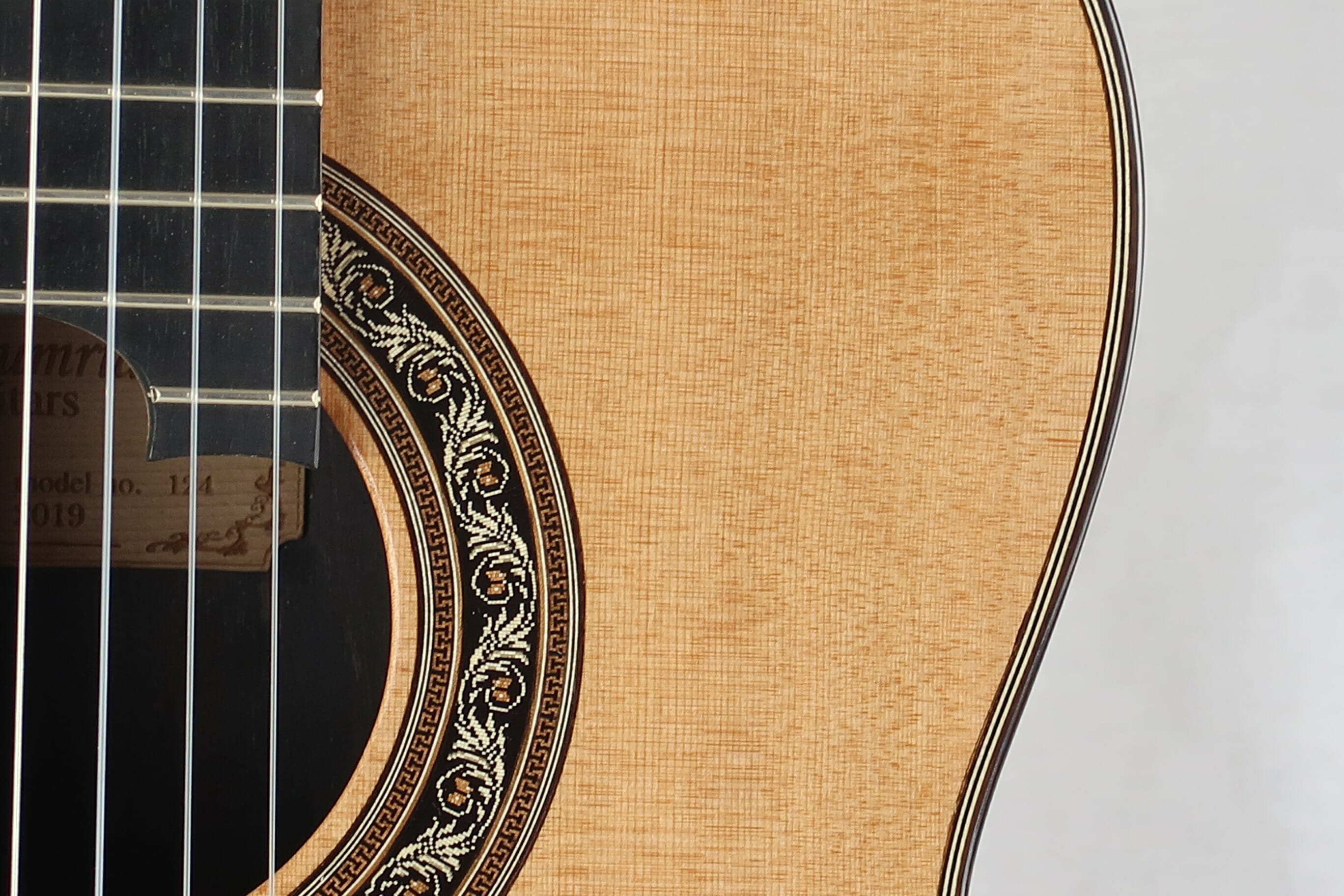 Guitare classique luthier Charalampos Koumridis barrage lattice No 124 19KOU124-07
