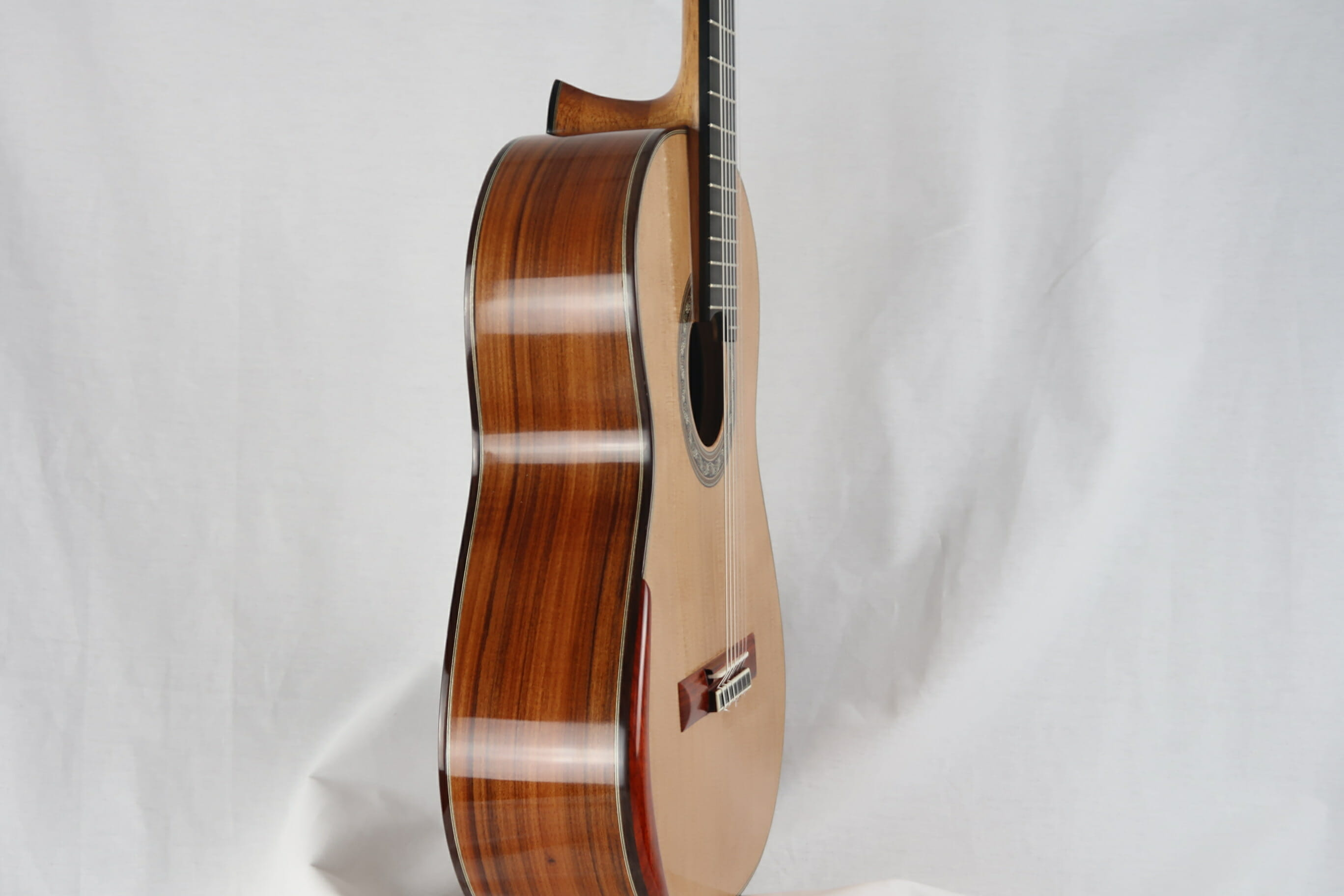 Guitare classique luthier Charalampos Koumridis barrage lattice No 124 19KOU124-06