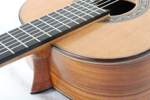 Guitare classique luthier Charalampos Koumridis barrage lattice No 124 19KOU124-03