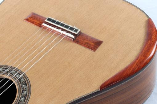 Guitare classique luthier Charalampos Koumridis barrage lattice No 124 19KOU124-02