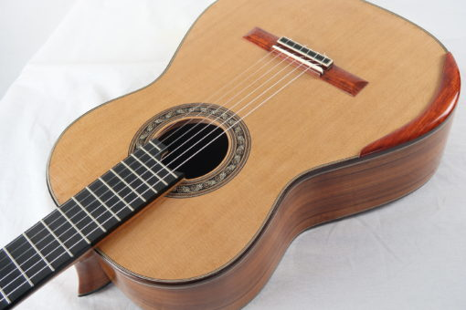 Guitare classique luthier Charalampos Koumridis barrage lattice No 124 19KOU124-01