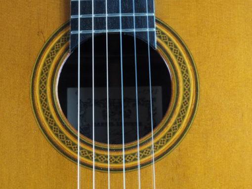Luthier daniel Lesueur guitare classique ex Judicael Perroy 18LES088-03