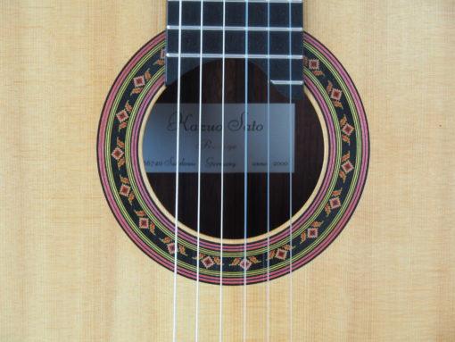 guitare classique Prestige 2000 Luthier Kazuo Sato 19SAT000-07